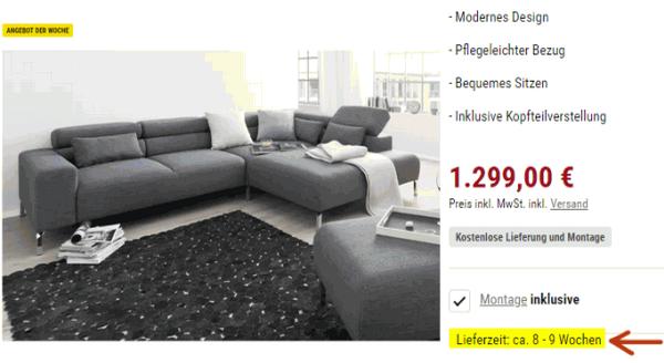 Augen Auf Beim Online Möbelkauf Wichtige Hinweise Und Gute Tipps